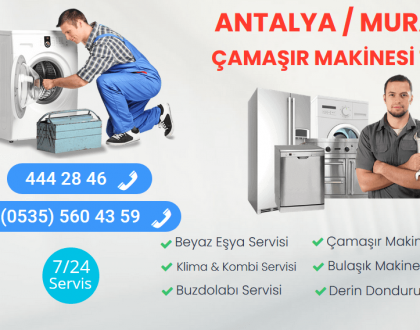 Muratpaşa Çamaşır Makinesi Tamircisi