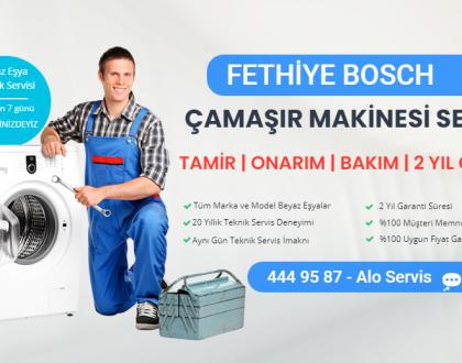 Fethiye bosch çamaşır makinesi servisi